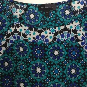 The Limited Print Top Blouse Sz XS
